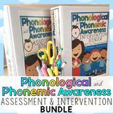 1 Phonological & Phonemic Awareness Assessment & Intervention BUNDLE