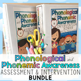 Phonological Phonemic Awareness Assessment and Intervention Activities BUNDLE