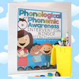 Phonological & Phonemic Awareness Activities and Interventions