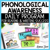 Phonological & Phonemic Awareness Complete Program for Reading & Writing Success