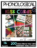 Phonological/Phonemic Awareness Task Cards [Task Box] Bundle