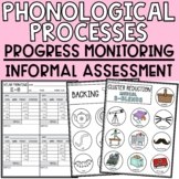 Phonological Processes Assessment + Progress Monitoring +
