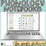 Phonological Processes Digital Interactive Notebooks Bundle