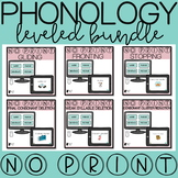 Phonological Processes Progress Monitoring Bundle