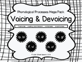Phonological Processes - Voicing and Devoicing MegaPack