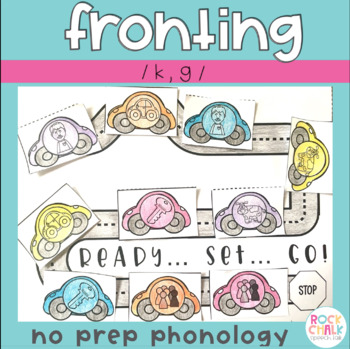 Phonological Processing for Fronting K & G using Cycles (No Prep)