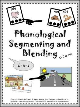Phonological Segmenting and Blending Activity (CVC words)