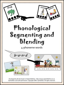 Phonological Segmenting and Blending Activity: 4 phoneme words