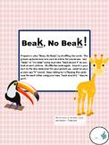 Phonology (Articulation) Velar K Sound /Oral Language-Beak