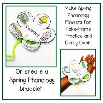 Phonology Blooms: Flower Craft and Bracelets for Phonology