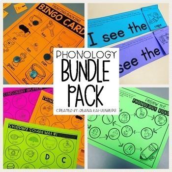 Phonology {Bundle Pack}