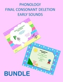 Phonology Bundle for Final Consonant Deletion