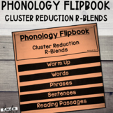 Phonology Flipbook: Cluster Reduction of R-Blends (Blackli