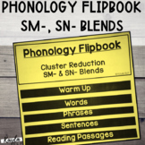 Phonology Flipbook: Cluster Reduction of SN- and SM- (Blac