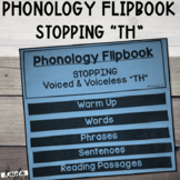 "Phonology Flipbook: Stopping of Voiced & Voiceless ""TH"" (B"