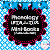 Phonology Interactive Mini-Books Cluster Reduction