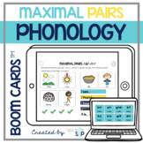 Phonology Maximal Pairs Boom Cards™️ for Speech Therapy