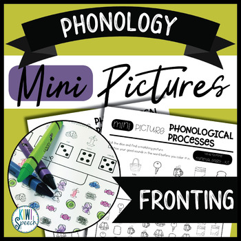 Phonology Mini Pictures - Fronting (NO-PREP)