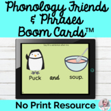 Phonology Phrases Sentences Boom Cards Digital No Print |