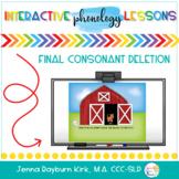 Phonology SMART Board: Final Consonant Deletion
