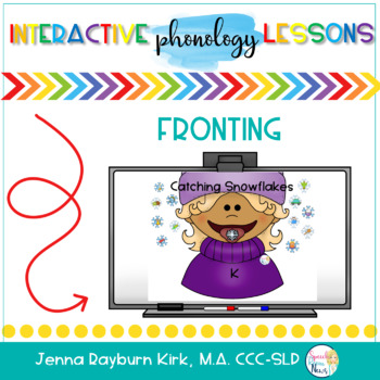Phonology SMART Board: Fronting