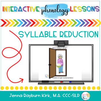 Phonology SMART Board: Syllable Reduction