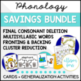 Phonology Bundle for Speech Therapy