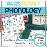Phonology Speech Therapy Contrast Pairs BUNDLE Printable +