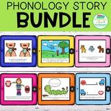 Phonology Story Bundle | DIGITAL | No Print | Speech Therapy