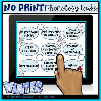 Phonology Tasks No Print: Winter