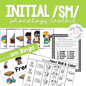 Phonology Toolkit - /sm/ blends