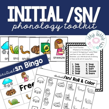 Phonology Toolkit  -/sn/ initial