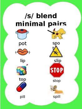 Phonology: /s/ blends