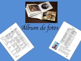 Photo Album Family/ Familia Vocabulary Project