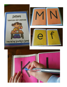 Photo Album Flashcards: Letters and Numbers 1-50