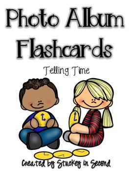 Photo Album Flashcards: Telling Time