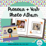 Photo Album Sorting: Pronoun + Verb