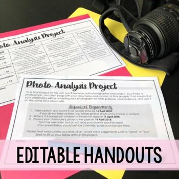 Photo Analysis Project - Media Literacy & Analysis