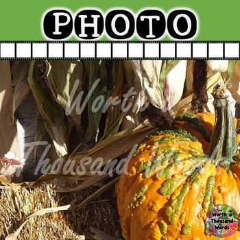 Photo: Autumn Gourd and Corn