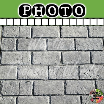 Photo: Background - Grey Brick