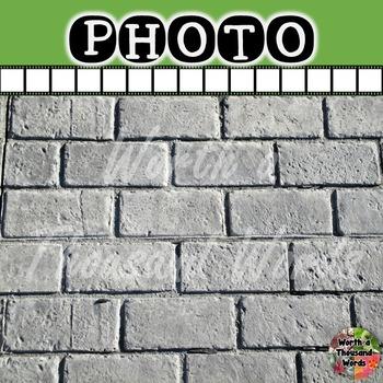 Photo: Background - Grey Brick