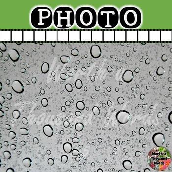 Photo: Rain / Water Droplets