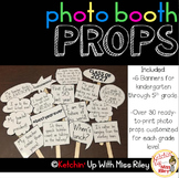 Photo Booth Banners & Speech Bubble Photo Props