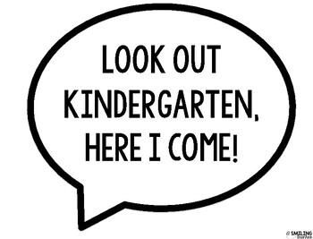 Photo Booth Kindergarten signs