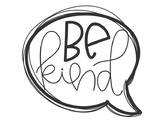 Photo Booth Kindness Speech Bubbles