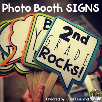 Photo Booth Prop Signs