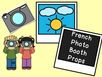 Photo Booth Props-French