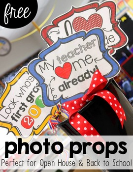 Photo Booth Signs and Props