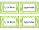 Photo Box Labels