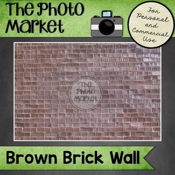 Photo: Brick Wall - Brown Brick